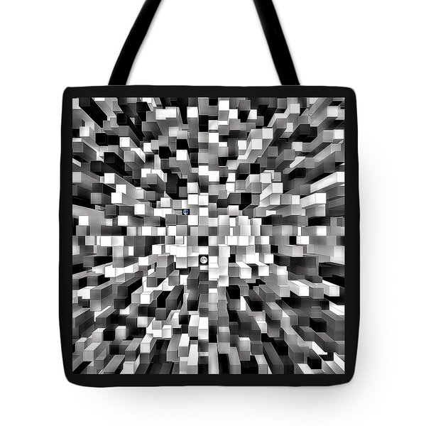 Tote Bag featuring the photograph Blocked Space by Kellice Swaggerty