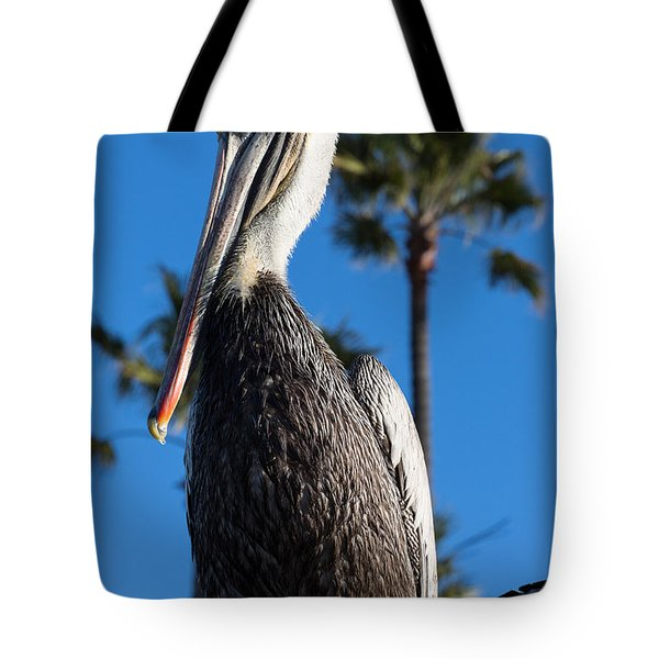 Blond Pelican Tote Bag