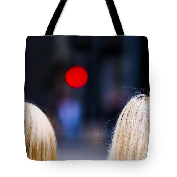 Blondes Are Not Allowed 2 - Featured 3 Tote Bag by Alexander Senin