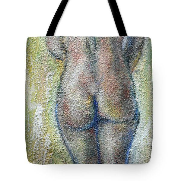 Blond's Back Tote Bag