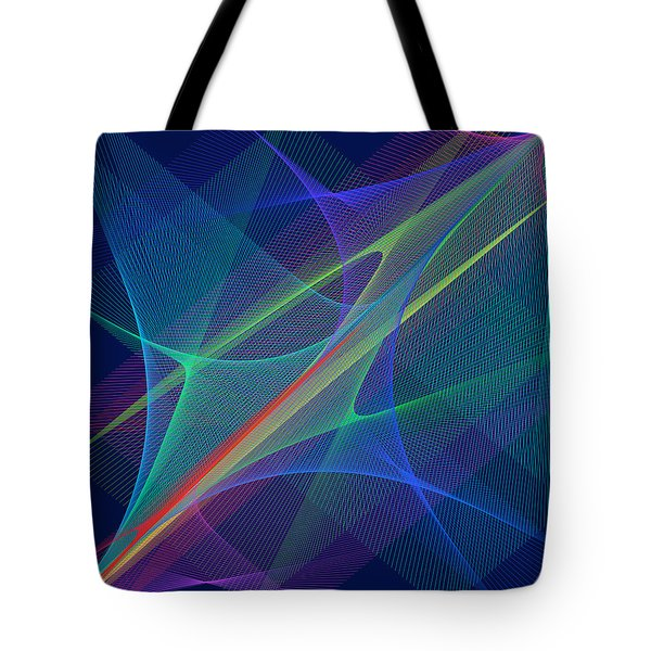 Tote Bag featuring the digital art Blood by Karo Evans