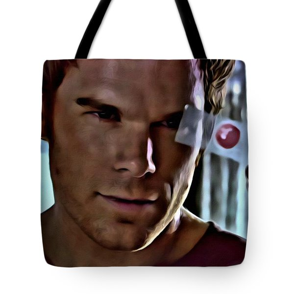 Blood Slide Dexter Tote Bag