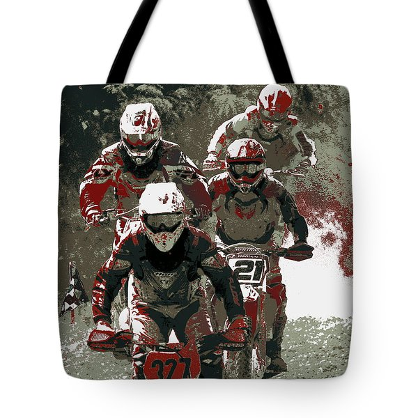 Blood Sweat And Dirt Tote Bag