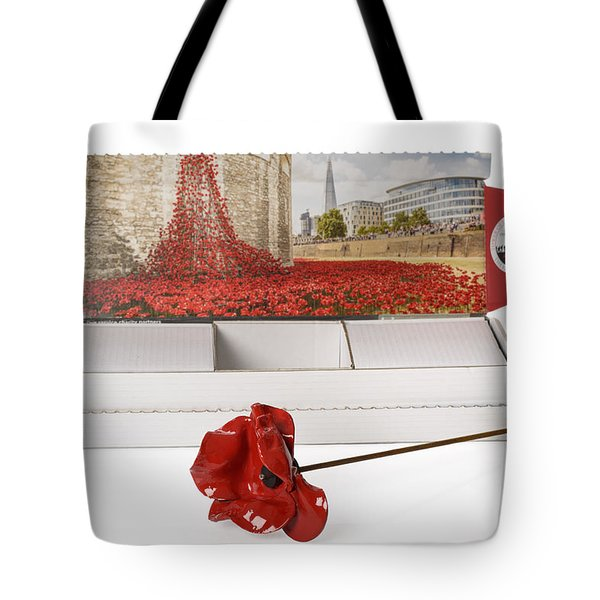 Blood Swept Lands And Seas Of Red Tote Bag by Amanda Elwell