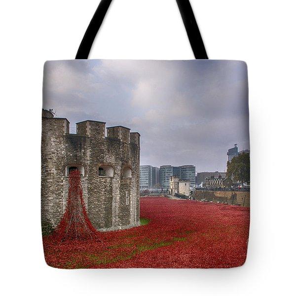 Blood Swept Lands Tote Bag