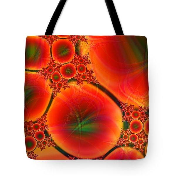 Blood Type Tote Bag by Anastasiya Malakhova