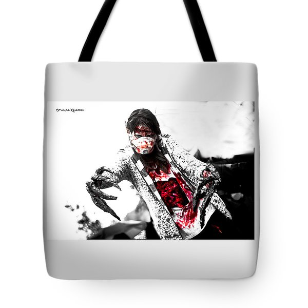 Bloody Death Claws Tote Bag