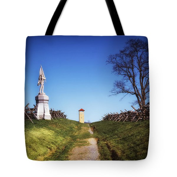 Bloody Lane - Antietam Battlefield Tote Bag