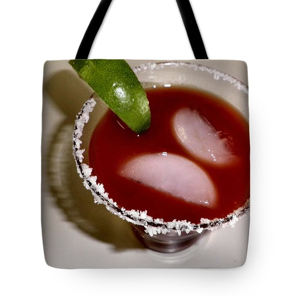 Bloody Mary Tote Bag by Tonie Cook