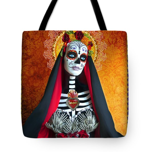 Bloody Virgin Mary Tote Bag by Tammy Wetzel