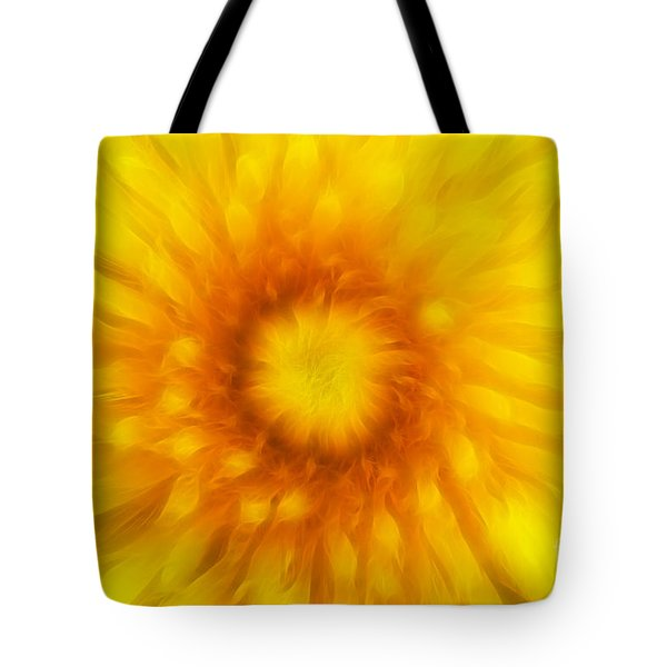 Bloom Of Dandelion Tote Bag by Michal Boubin