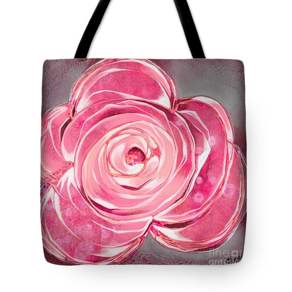 Bloom V Tote Bag