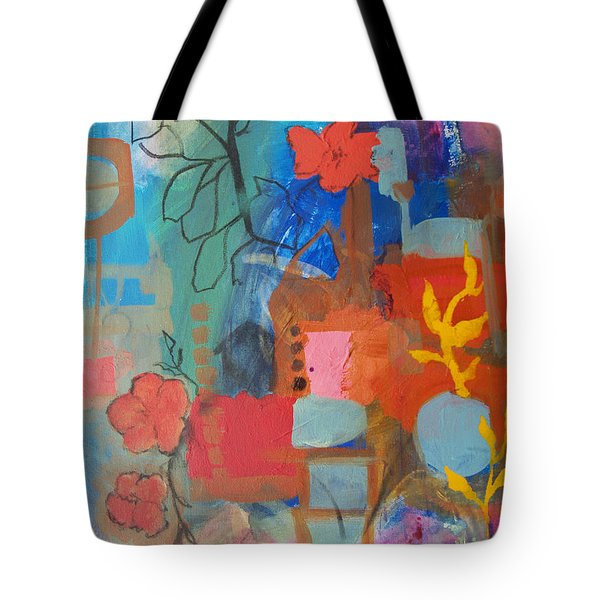 Bloom Where You Are Tote Bag by Robin Maria Pedrero