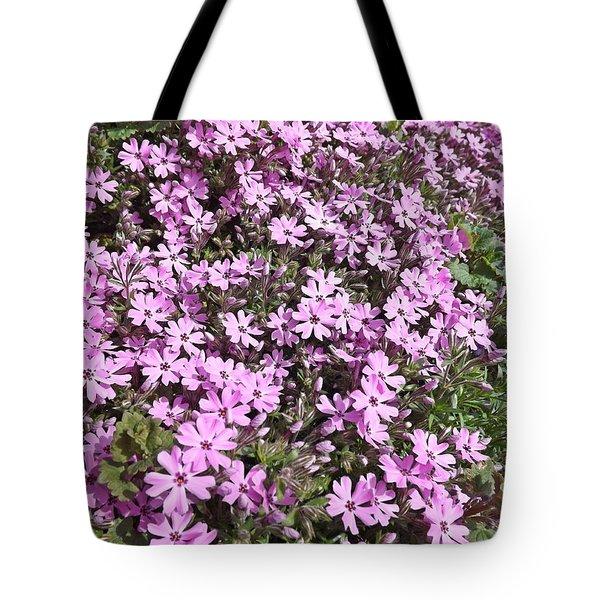 Bloomin Like Mad Tote Bag by Sara  Raber