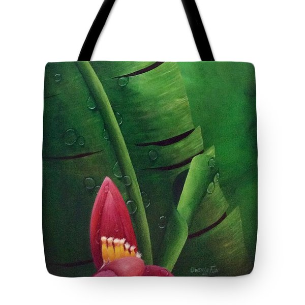 Blooming Banana Tote Bag