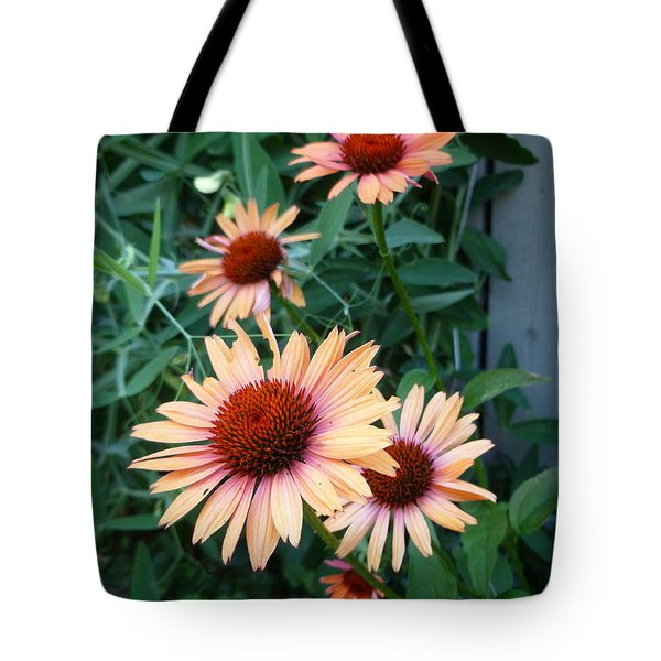 Blooming Coneheads Tote Bag by Lingfai Leung