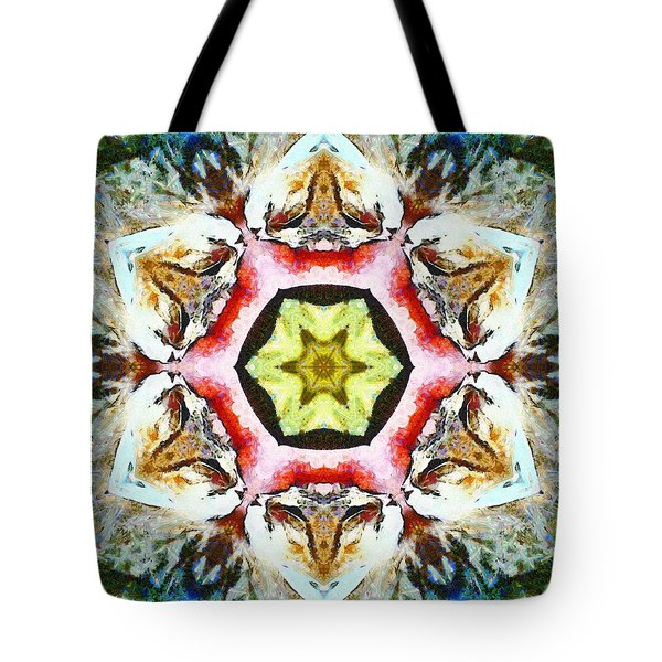Blooming Fibonacci Tote Bag