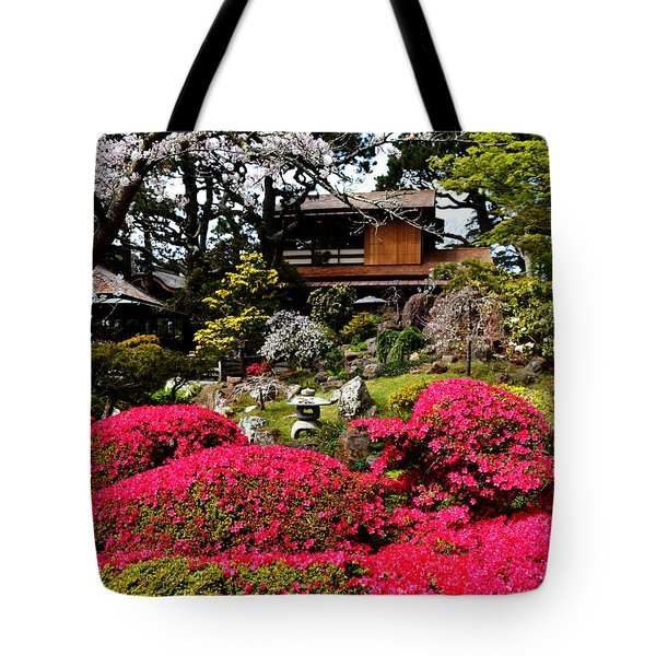 Blooming Gardens 2 Tote Bag by Holly Blunkall