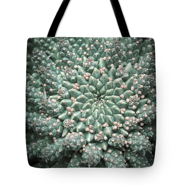 Blooming Geometry Tote Bag by Caitlyn  Grasso
