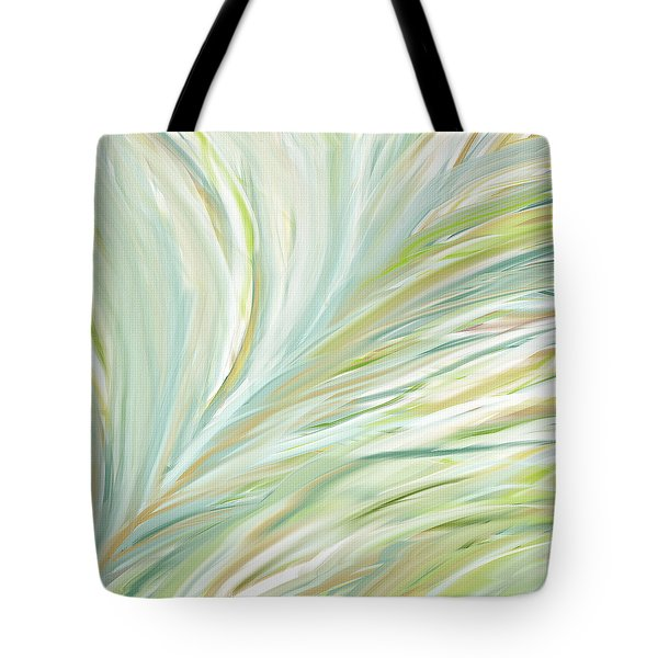 Blooming Grass Tote Bag