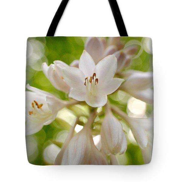 Blooming Hosta Tote Bag