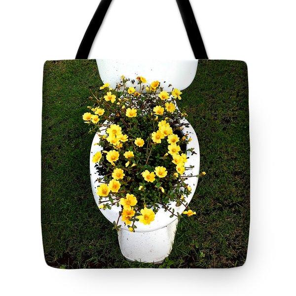 Blooming Loo Tote Bag