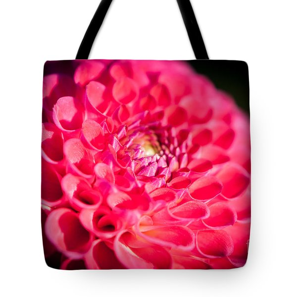 Blooming Red Flower Tote Bag