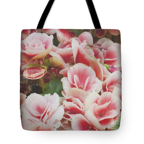 Blooming Roses Tote Bag