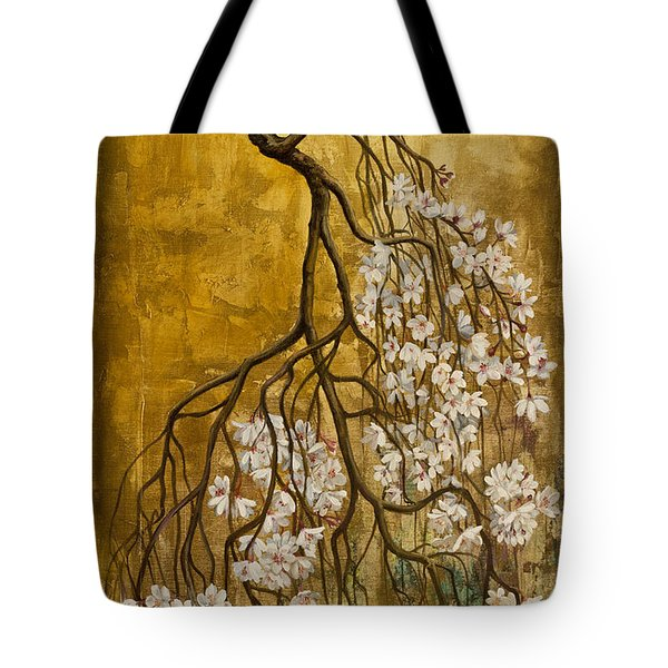 Blooming Sakura Tote Bag