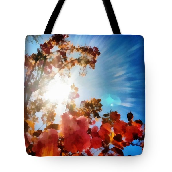 Blooming Sunlight Tote Bag