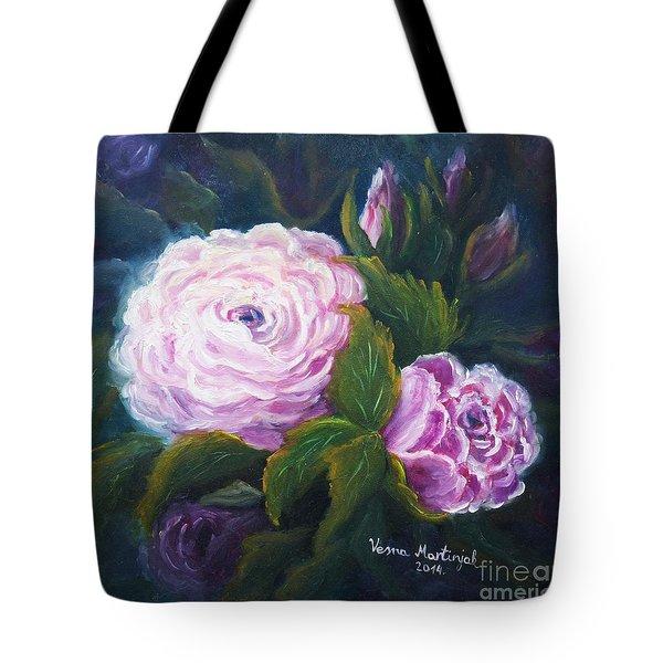 Blooming Tote Bag by Vesna Martinjak