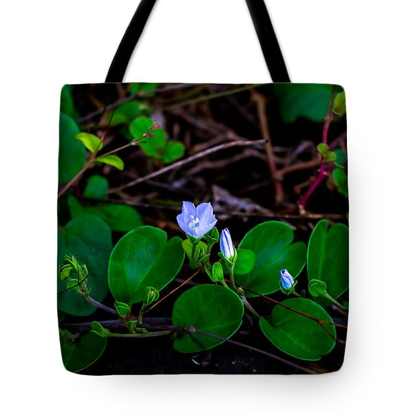 Blooming Vine Tote Bag