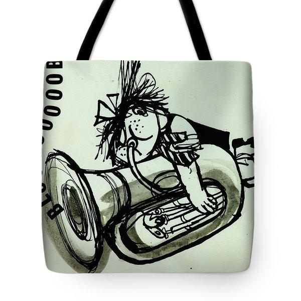 Blooooob! Ink On Paper Tote Bag