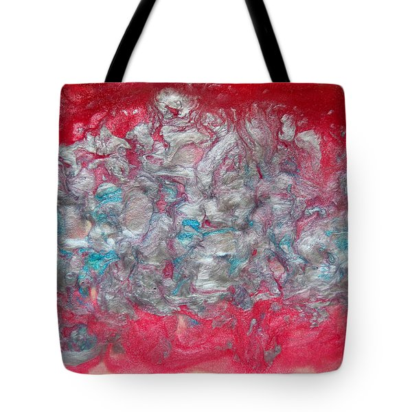 Blossom Abstract Tote Bag