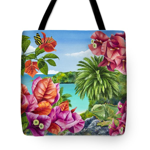 Blossom Bower Tote Bag by Carolyn Steele