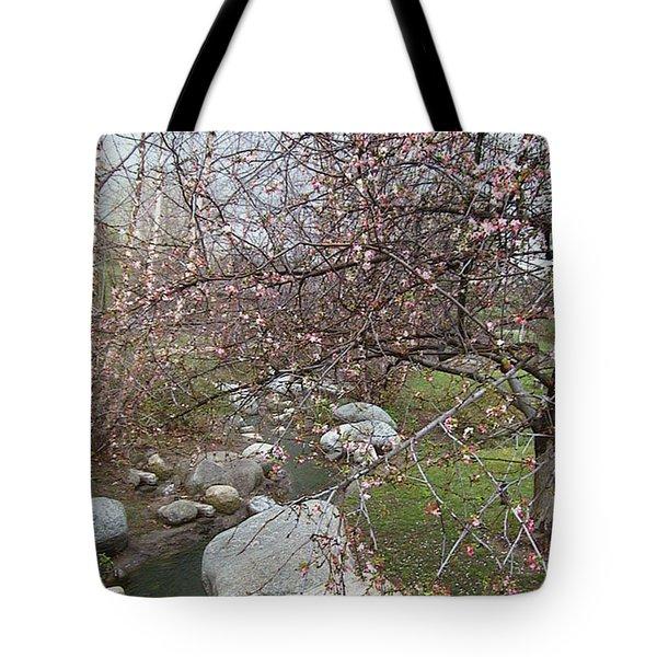 Blossom Brook Tote Bag