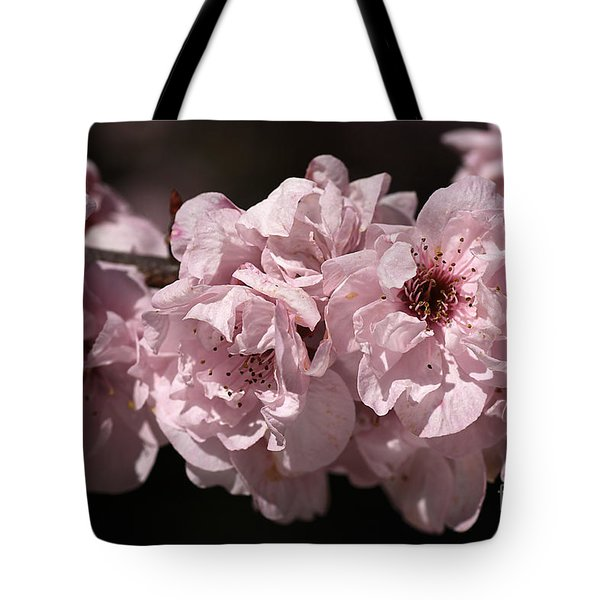 Blossom In Pink Tote Bag by Joy Watson