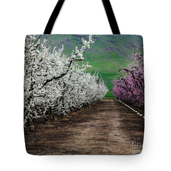 Blossom Standoff Tote Bag
