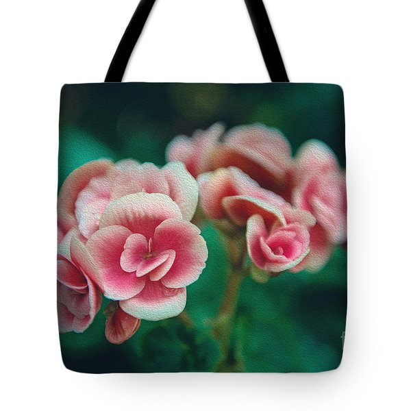 Tote Bag featuring the photograph Blossom by Yew Kwang