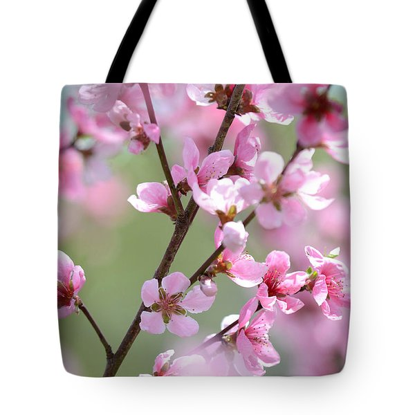 Blossoming Hillside Tote Bag by Melanie Moraga