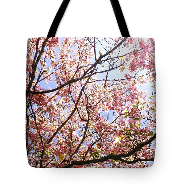 Blossoming Pink Tote Bag