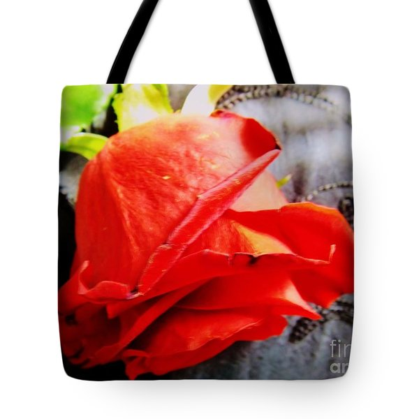 Tote Bag featuring the photograph Blossoming Red by Robyn King