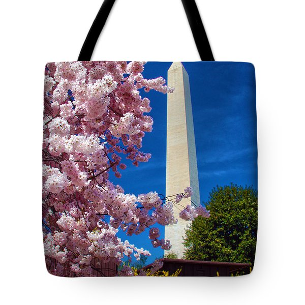Blossoms Tote Bag by Mitch Cat