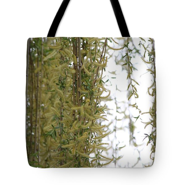 Blossoms Of The Willow 1 Tote Bag by Jennifer E Doll