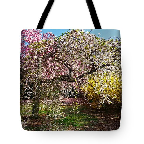 Blossoms Potpourri II Tote Bag