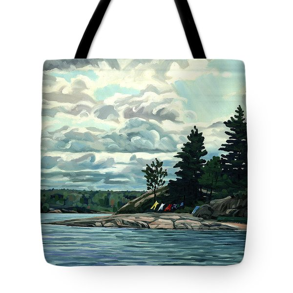 Blow Me Away Tote Bag by Phil Chadwick