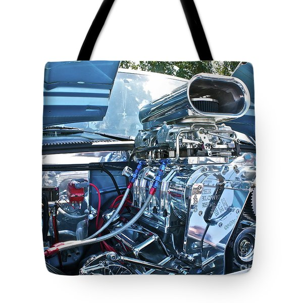 Tote Bag featuring the photograph Blower Shop by Linda Bianic
