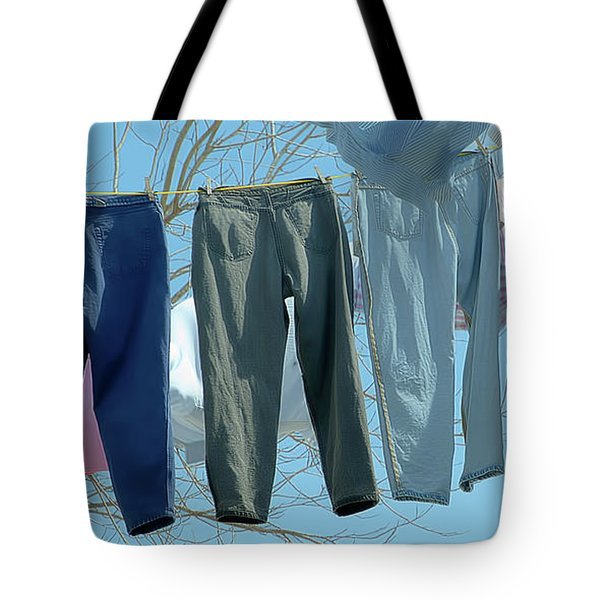 Blowin' In The Wind ...wash Day Tote Bag