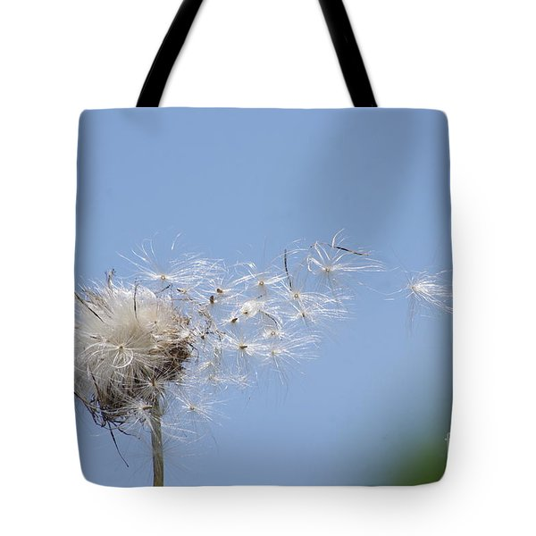 Blowing Away Tote Bag