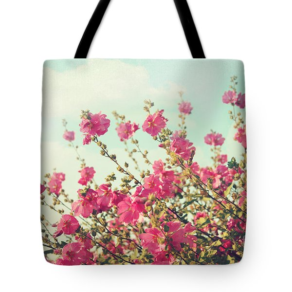 Tote Bag featuring the photograph Blowing In The Wind by Sylvia Cook
